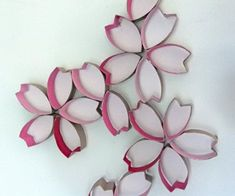 wall decor ideas floral pattern