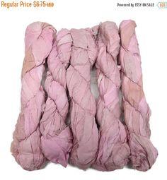 SALE 50g Recycled Sari Silk Ribbon Powder by SilkDivine on Etsy