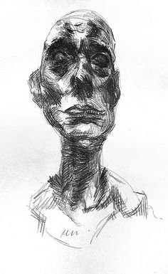 A searching picture by giacometti