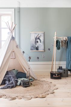Fru Mighetto Herr Bill 50 x 70 cm, fru Mighetto Baby Bedroom, Baby Room Decor, Home Bedroom, Kids Bedroom, Interior Exterior, Room Interior, Scandinavian Kids Rooms, Dining Nook, Kid Spaces