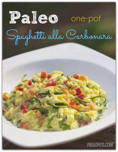 Spaghetti alla Carbonara #PaleoPot