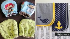 Have a new little one in the house or know someone with a new baby? If so, you may be looking for some creative things to sew for baby, as these sorts of little tiny things are the most adorable ever. Not cuter than baby, of course, but close. From mittens to hats to adorable blankets and wraps, you