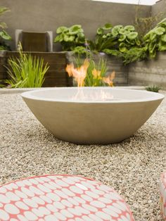 Curved Wall, Fire Pit Design, Pictures, Remodel, Decor and Ideas - page 4