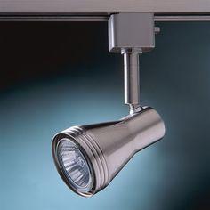 Kendal Lighting TLGU-6-SN Cylinder Track Head
