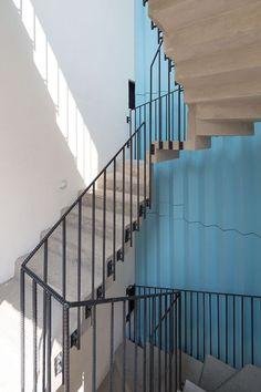 Edificio Córdoba-Reurbano - Picture gallery #architecture #interiordesign #staircases