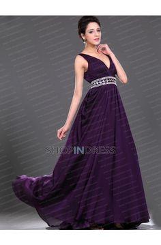 Grape Prom Dress