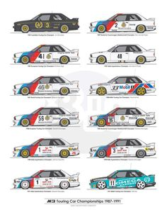 BMW E30 M3 race car - championship winning car - again & again & again and…..