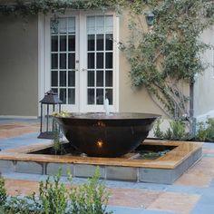 sugar cane kettle fountain