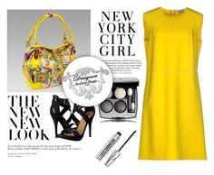 """SHOP - DESIGNER ITALIAN BAGS"" by designeritalianbags ❤ liked on Polyvore featuring Blumarine, H&M, Michael Antonio and Bare Escentuals"