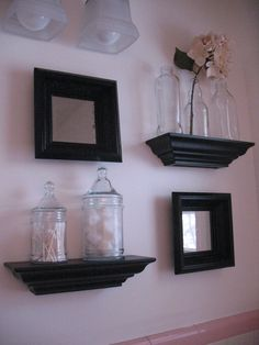 upstairs bathroom pink and black beauty - Pink And Black Bathroom Accessories