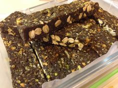 Healthy protein bars-homemade