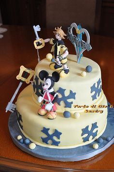 Kingdom Hearts cake......total awesome!