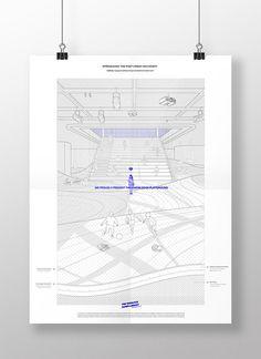 Estos son los mejores Proyectos de Fin de Carrera en España este 2018,The Fabulous Super-Library / Ernesto Ibáñez Galindo. Image Cortesía de Ernesto Ibáñez Galindo Architecture People, Architecture Board, Architecture Graphics, Architecture Portfolio, Concept Architecture, Architecture Design, Tropical Interior, Site Analysis, Typographic Poster