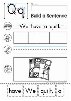 phonics letter of the week c sentence building cut and paste activity for beginning readers. Black Bedroom Furniture Sets. Home Design Ideas