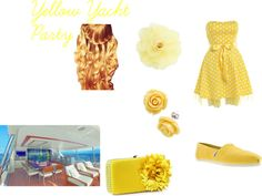 """Yellow Yacht Party"" by love-lauren-rae143 on Polyvore"