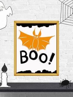 50% OFF SALE Boo Halloween Printable art Boo by PrintArtPosters #halloween #poster #wallart #decor #boo #print #quote #printable #decoration #happyhalloween #art #halloweensign #party #design #PrintArtPosters #prints #gift #popular #pictures #ideas