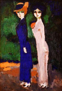Kees van Dongen | Les deux parisiennes, 1907