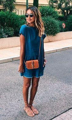 Look Jeans: Vestido