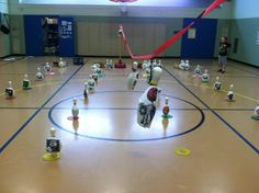 K-6 Physical Education Adventures with Mr. Ginicola!: Some of my zombies from the game!