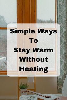 5 simple tips for staying warm at home without heating. Frugal and simple ways to stay warm this Winter at home. Survival Items, Survival Skills, Emergency Supplies, Emergency Preparedness, Ways To Save Money, Money Saving Tips, Survivor Quotes, Frugal Living Tips, Homemaking
