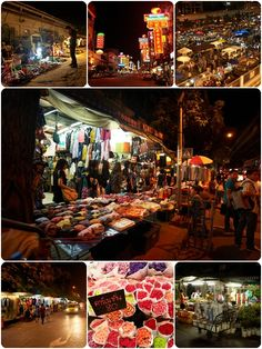 Bangkok night markets Bangkok Travel Guide, Meeting Place, Angkor, Travel Guides, Jet Set, Night Life, Dodge, Vietnam, Places To Visit