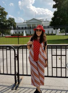 Me and white House