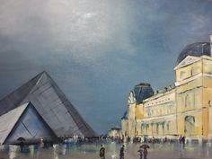 El Louvre y París son magníficos! Llueva o haga sol, impresionan..
