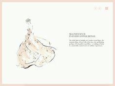 WeddingIllustrations / reception by famous Japanese fashion illustrator YOCO NAGAMIYA / Gorgeous! www.dutchuncle.co.uk/yoco-nagamiya