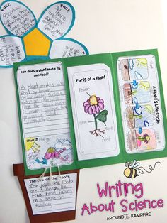 See our plant life cycle activities and why my students are so excited to write about science! Includes FREE lesson visuals for teaching about plants.