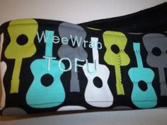 Belly Band for Male Dogs, Stops Marking, Groovy Guitar, Personalized