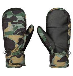 DC  guanti  gloves Snowboard Ski Seger moffola camo