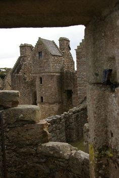 Tolquhon castle,Scotland