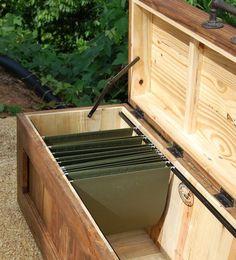 Diy File Storage Bench Stuff To Try Diy Storage Bench