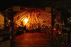 Unique and different, these luxury yurts can be rented for your next big event anywhere in the United States or Canada. Whether you're looking for some eclectic accommodation on your wedding night or hoping to get the whole family together for a picnic, these yurts might just be exactly what you're looking for.