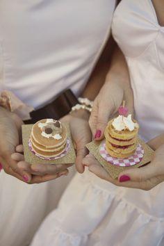 mini pancakes + waffles / photo: Amanda Doublin, desserts: Sweets Indeed
