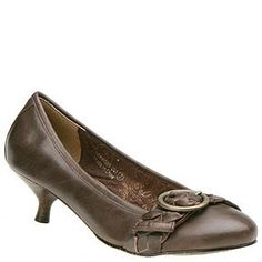 Naughty Monkey Women's Jasmine Low Heel Pump, Chocolate, 6 M  #Naughty_Monkey #Shoes