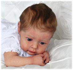 *SUGAR PLUM NURSERY* Reborn *PROTOTYPE* baby girl doll - CHLOE by NATALI BLICK
