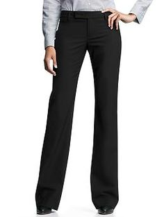 Great trouser for work. Modern boot pants from Gap.
