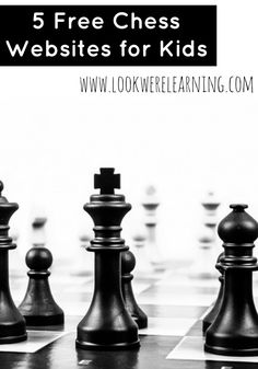 Check out some of the great resources we've found that feature online chess lessons for kids!