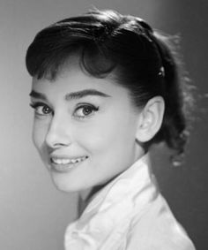 Audrey Hepburn-Quite possibly my favorite photo of her.