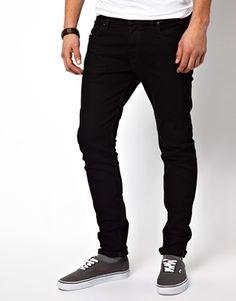 Diesel Jeans Sleenker 886Z Skinny Fit Black