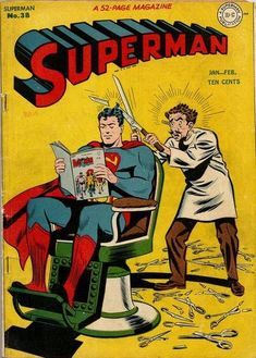 Cover for Superman #38 (January-February 1946)