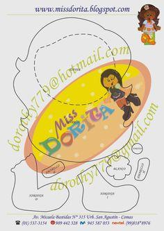 Miss Dorita Paper Piecing Patterns, Felt Patterns, Preschool Crafts, Scrapbook Paper, Tweety, Diy And Crafts, Mickey Mouse, Applique, Clip Art