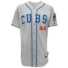 18cc68ca0 Anthony Rizzo Chicago Cubs Authentic Alternate Road Cool Base Jersey