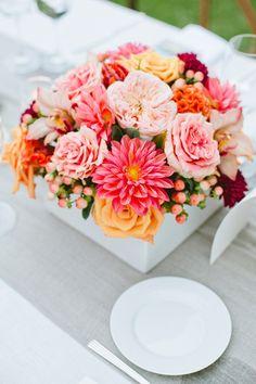 Flores lindas para decoração de mesa!