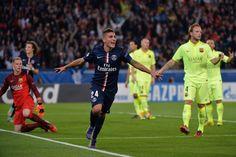 Marco Verratti a signé le 2e but du PSG face au Barça