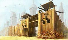 Fallout city by malachi78.deviantart.com on @deviantART