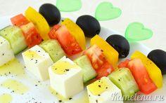 Закуска из овощей «Греция»