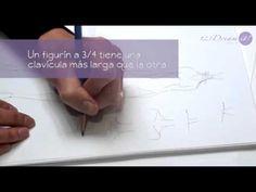 Figurín de Moda Parte 2 - Consejos clave para dibujar un figurín. Consejos para dibujar un figurín por la Diseñadora Isabel Rovalo.