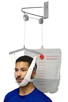 OTC Cervical Traction Kit, Neck Pain Relief, Vertebrae Disk Herniation, Complete Over Door Setup Muscle Problems, Disk Herniation, Cervical Vertebrae, Neck Exercises, Neck Pain Relief, Heath And Fitness, Very Tired, Personal Care, Kit